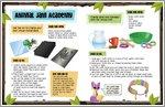 Animal Jam Academy Activities (1 page)
