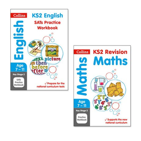 Collins KS2 English and Maths Practice Workbooks Pair (Ages 7-11)
