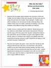 Story Stars Resource:Who Ate the Cake? Lesson Plan