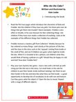 Story Stars Resource:Who Ate the Cake? Lesson Plan (4 pages)