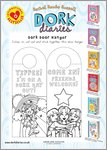 Dork Diaries Dork Door Hanger