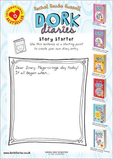 Dork Diaries Story Starter