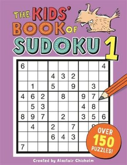 The Kids' Book of Sudoku 1