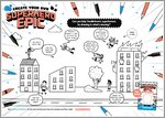 Activity Sheet for Create Your Own Superhero Epic (1 page)