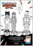 Create Your Own Superhero Epic Activity Sheet 3 (1 page)