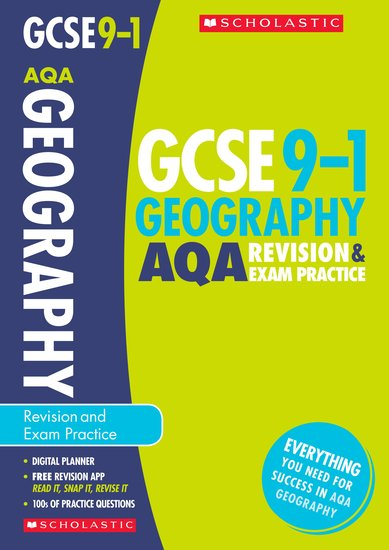 GCSE Grades 9-1: Geography AQA Revision and Exam Practice Book x 30