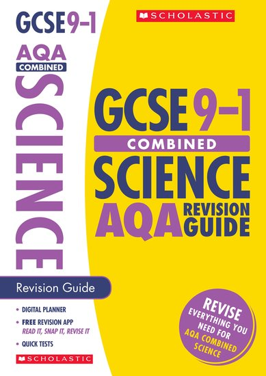 GCSE Grades 9-1: Combined Science AQA Revision Guide x 30