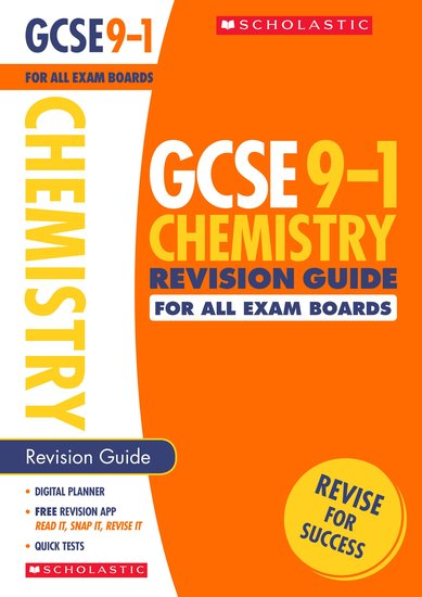 GCSE Grades 9-1: Chemistry Revision Guide for All Boards x 30