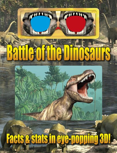 3D Battle of the Dinosaurs