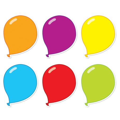 Cut-Out Shapes: Balloons x 36