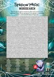Shadow Magic Activity Sheet: Wordsearch (1 page)