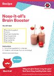 Nose-it-all Brain Booster recipe (1 page)
