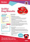 Sniffer Dog Biscuits recipe