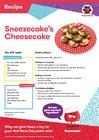 Sneezecake's Cheesecake recipe