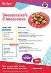 Sneezecake's Cheesecake recipe (1 page)
