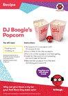 DJ Boogie's popcorn recipe
