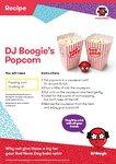 DJ Boogie's popcorn recipe  (1 page)