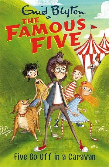 Book summary: Five Go Off in a Caravan
