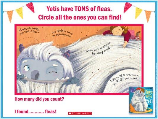 Don't Wake the Yeti Activity Sheet