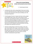 Story Stars Resource: A Day with the Animal Railway (4 pages)