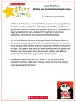 Story Stars Resource: Let's Find Fred (4 pages)