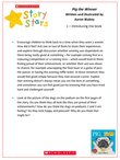 Story Stars Resource: Pig the Winner Lesson Plan (6 pages)