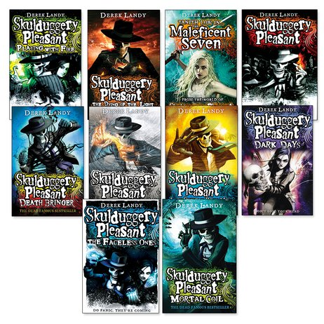 Skulduggery Pleasant Pack x 10