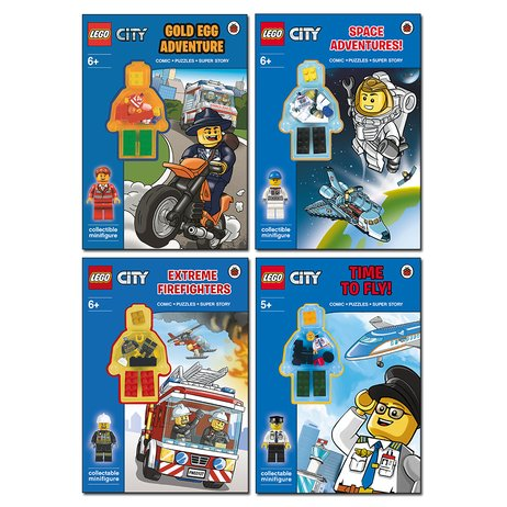 LEGO® CITY™ Activity Pack x 4