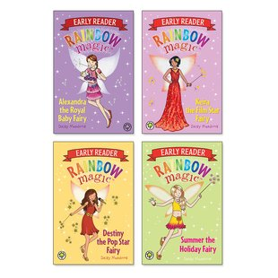 Rainbow Magic Early Readers Pack x 4