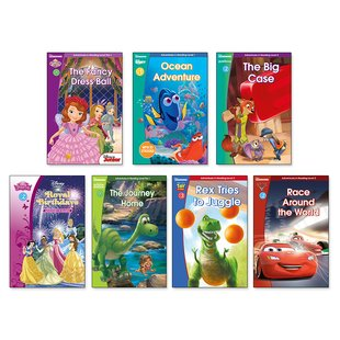 Disney Adventures in Reading Pack x 7