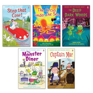 Usborne Very First Reading Pack x 5
