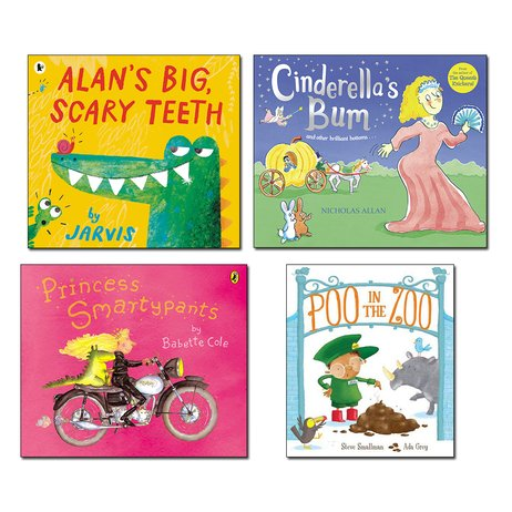 Funny Picture Book Pack x 4