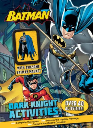 Batman: Dark Knight Activities with Magnet