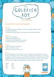 The Goldfish Boy Lesson Plans (9 pages)