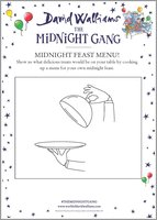The Midnight Gang - Midnight Feast Menu