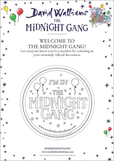 The Midnight Gang Decoration