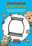 Supermarket Zoopermarket Drawing Activity  (1 page)