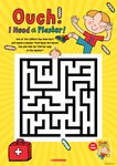 Ouch! I Need a Plaster Maze Activity Sheet (1 page)