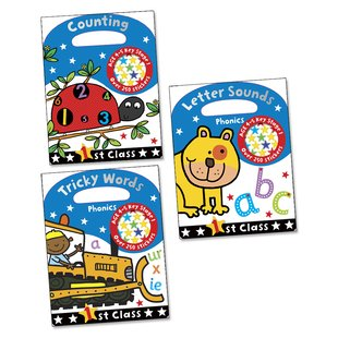 First Class Pack x 3 (Ages 4-5)