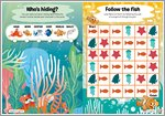 Finding Dory Puzzle Sheet 4 (1 page)
