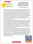 Story Stars Resource: Astro the Robot Dog Lesson Plan (3 pages)