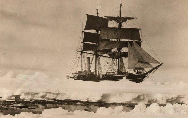 Scott's ship