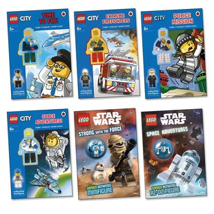 LEGO® Activity Book Pack x 6