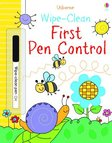 Usborne Wipe-Clean: First Pen Control