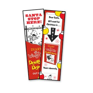 Wimpy Kid Bookmark