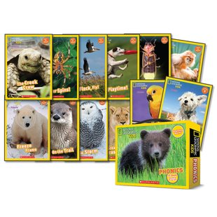 National Geographic Kids: Phonics Box Set