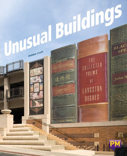 PM Ruby: Unusual Buildings (PM Guided Reading Non-fiction) Level 27 (6 books)