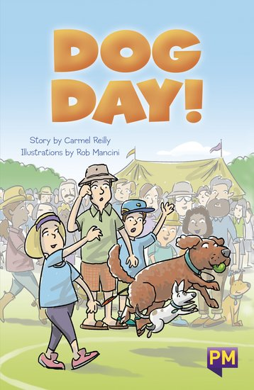 PM Emerald: Dog Day! (PM Guided Reading Fiction) Level 26 (6 books)