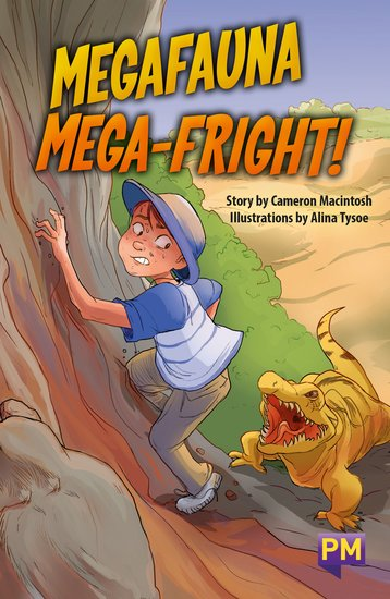 Megafauna Mega-Fright (PM Guided Reading Fiction) Level 27