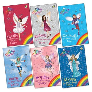 Rainbow Magic Winter Pack x 6